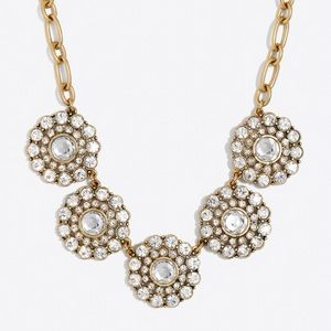 JCREW Layered Circle Necklace
